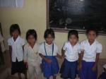 5 familles qui recevront de l'aide cette année